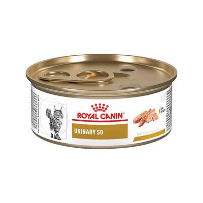 Royal Canin Veterinary Diet Urinary SO Loaf In Sauce Canned Cat Food, 5.8-oz, case of 24
