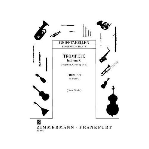 Zimmermann Verlag Grifftabelle Trompete