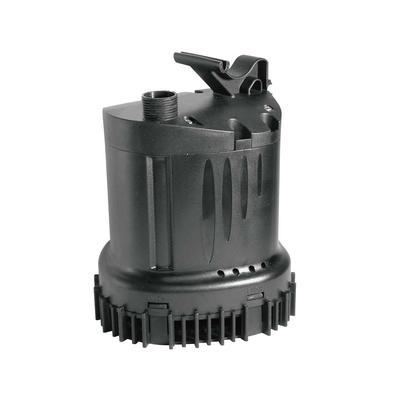 Lifegard Aquatics Dirty Water Submersible Pond Pump, 150 W, Black