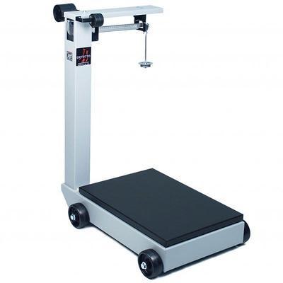 Detecto 854F50K Floor Model Balance Beam Receiving Scale, 500 kg Capacity