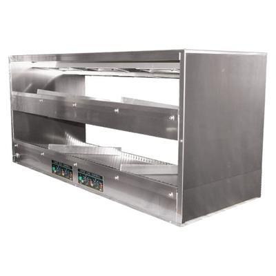 "BKI 2TSM-3824R 38"" Self Service Countertop Heated Display Shelf - (2) Shelves, 120v"