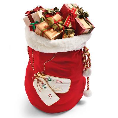 Personalized Large Santa Bag - Frontgate - Christmas Decorations