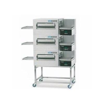Lincoln 1180-3E 56 Triple Stack Conveyor Oven Package Electric Digital 30kW