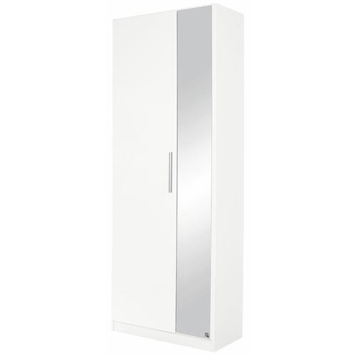 rauch BLUE Garderobenschrank Minosa, mit Spiegel, Breite 69 cm weiß Garderobenschränke Garderoben