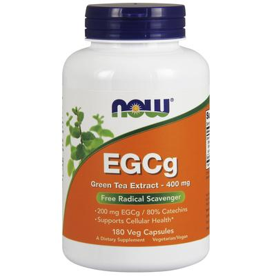 Now Foods EGCg Green Tea Extract 400 mg 180 Veg Capsules
