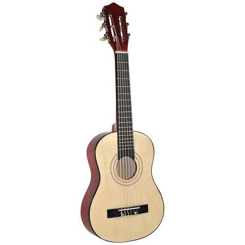 Voggenreiter Kindergitarre Kindergitarre, 1/8, natur, FSC-Holz aus gewissenhaft bewirtschafteten Wäldern beige Gitarre Musikinstrumente