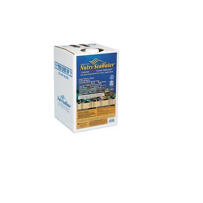 Nature's Ocean Nutri-SeaWater Natural Live Ocean Saltwater, 4.4 gallons, White