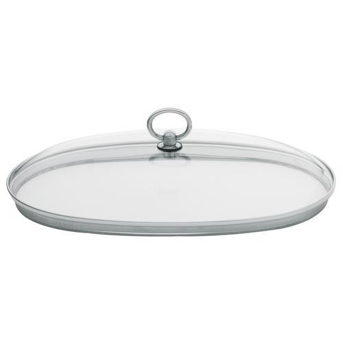Fissler Deckel, oval, Gr. 36 x 24 cm farblos Zubehör für Töpfe Haushaltswaren Deckel