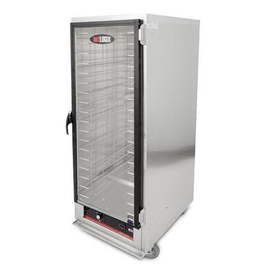Carter-Hoffmann HL1-18 Full Height Non-Insulated Mobile Heated Cabinet w/ (18) Pan Capacity, 120v