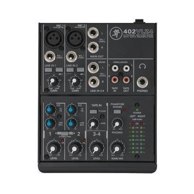 Mackie 402VLZ4 4-Channel Ultra-Compact Mixer 402-VLZ4