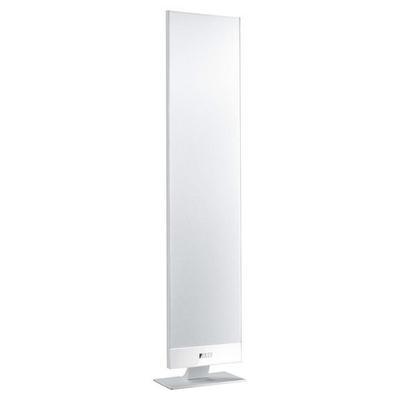 """KEF T Series Dual 4-1/2"""" 2-1/2-Way Satellite Speakers (Pair) - White"""