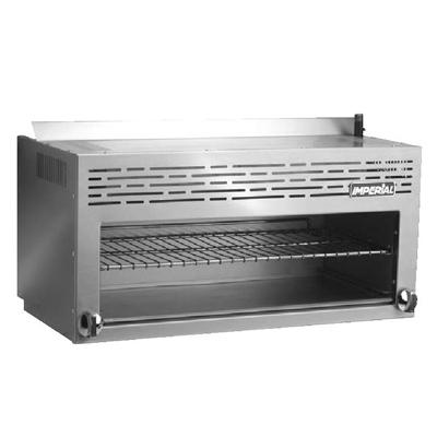 "Imperial 36"" W Infra-Red Cheesemelter Broiler Range ICMA36 - Stainless Steel"