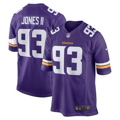 Men's Minnesota Vikings Patrick Jones II Nike Purple Game Player Jersey