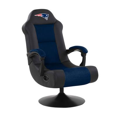 Imperial Black New England Patriots Ultra Game Chair