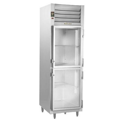 "Traulsen A-Series 24"" Glass Half-Door Reach-In Refrigerator (AHT132DUTHHG)"