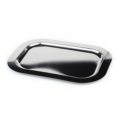 APS Tablett, Maße je ca. 42 x 31 cm silberfarben Tischaccessoires Geschirr, Porzellan Haushaltswaren Tablett