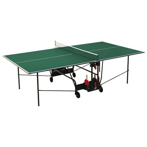 Sunflex Tischtennisplatte HOBBY INDOOR grün Tischtennis-Ausrüstung Tischtennis Sportarten