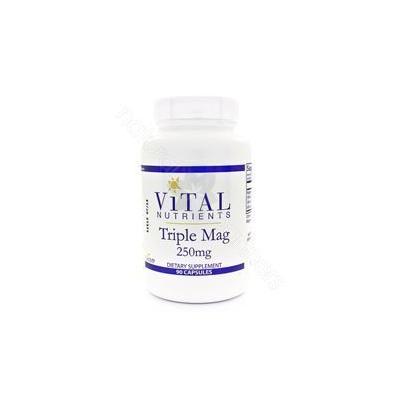 Vital Nutrients Triple Magnesium 250 mg 90 Capsules