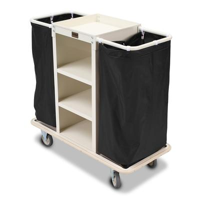 Forbes Industries 2140 Compact Housekeeping Cart w/ (3) Shelves - 18