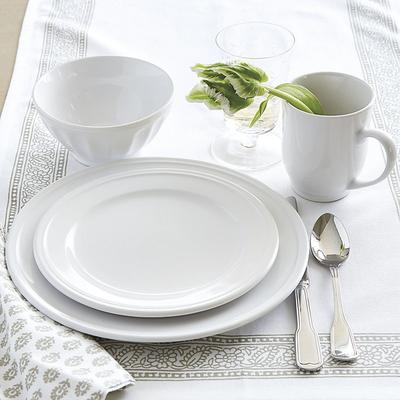Brigitte 16-Piece Dinnerware Set Ivory - Ballard Designs