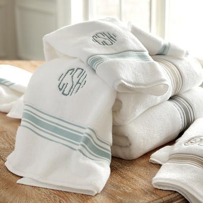 Amelie Bath Towel Collection Spa - Ballard Designs