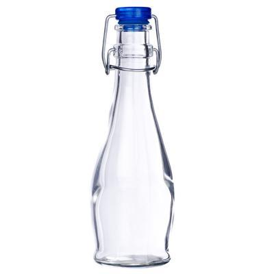 Libbey Glass 12-oz Water Bottle - Wire Bail Lid