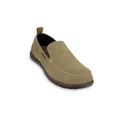 Crocs Khaki / Espresso Men'S Walu Slip-On Shoes