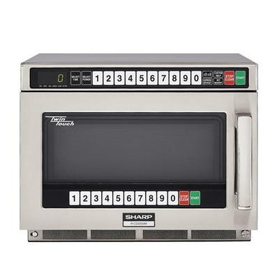 Sharp Twintouch 2200-Watt Microwave Oven (RCD2200M) - Stainless Steel
