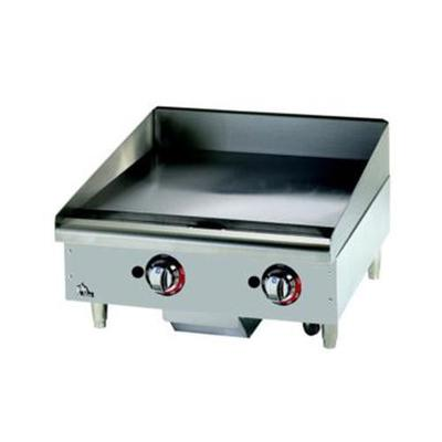 Star 48 Griddle 1 Chrome Plate, Thermostat Controls, LP