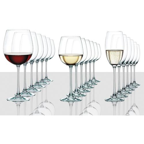 Nachtmann Gläser-Set Vivendi Premium, (Set, 18 tlg.) farblos Kristallgläser Gläser Glaswaren Haushaltswaren