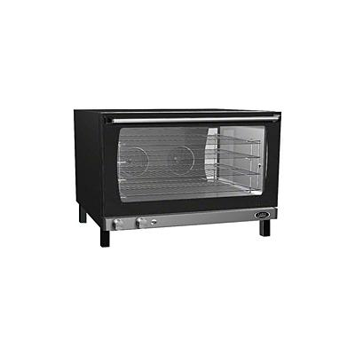 """Cadco 32"""" Full-Size Convection Oven (XAF193) - Black"""