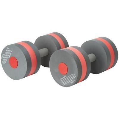 Speedo Aqua Fitness Barbells Athletic Sports Equipment - Charcoal/Red
