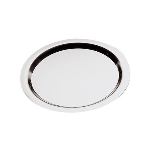APS Tablett, Ø ca. 35 cm silberfarben Tischaccessoires Geschirr, Porzellan Haushaltswaren Tablett