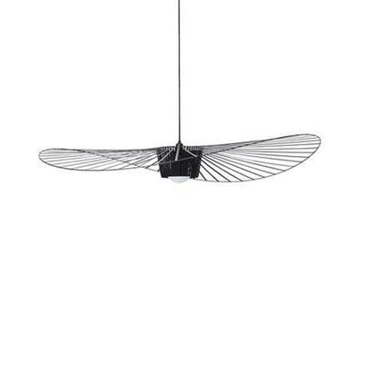 VERTIGO-Suspension Ø140cm noir rosace et câble noir Petite Friture - designé par Constance Guisset