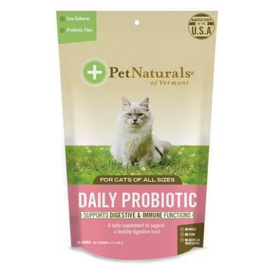 Pet Naturals of Vermont Cats - Daily Probiotic for Cats (All Sizes) -