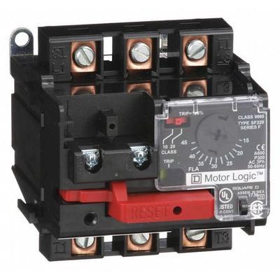 SQUARE D 9065SF220 Ovrload Relay,15 to 45A,3P,600VAC,NEMA 2