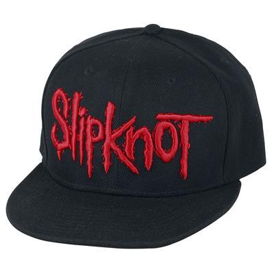 Slipknot Logo Cap - schwarz - Offizielles Merchandise