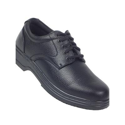 Haband Men's Deer Stags Service Oxford, Black, Size 8 Wide, W