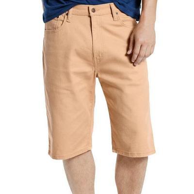 Levi's Mens 569 Loose Fit Straight Khaki Shorts