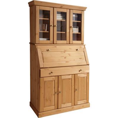 Home affaire Sekretär Rosi beige Schreibtische und Bürotische Arbeitszimmer Büro Möbel sofort lieferbar