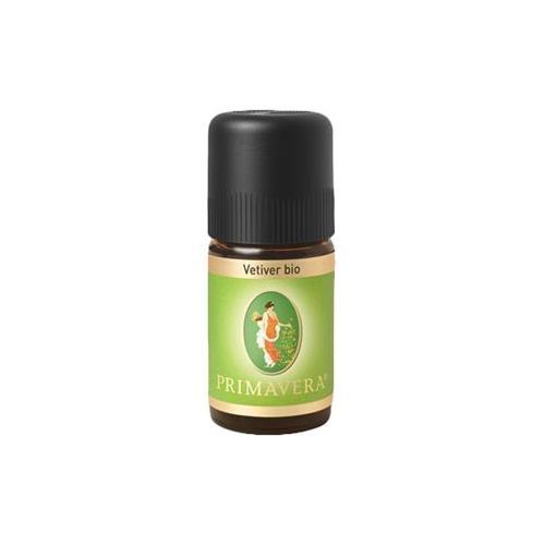 Primavera Aroma Therapie Ätherische Öle bio Vetiver bio 5 ml