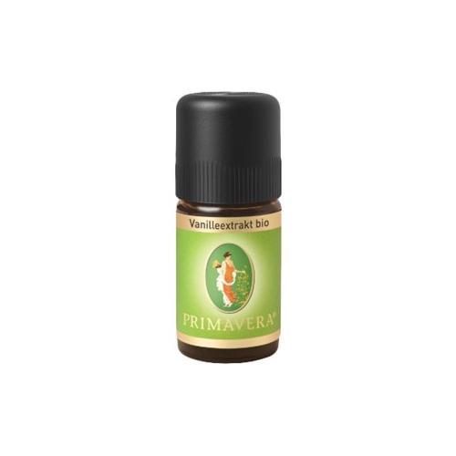 Primavera Aroma Therapie Ätherische Öle bio Vanilleextrakt bio 5 ml