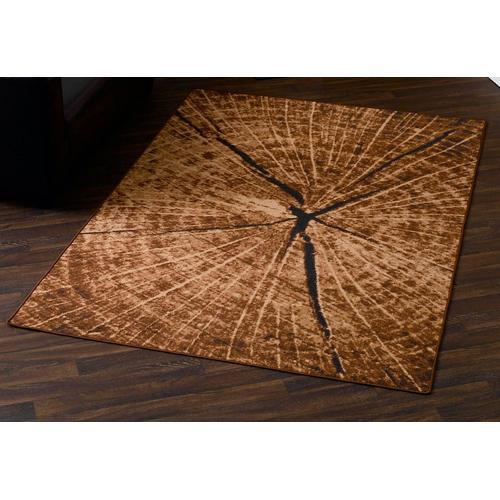HANSE Home Teppich Baumstamm -Optik, rechteckig, 9 mm Höhe, Baumstamm-Optik, Wohnzimmer braun Schlafzimmerteppiche Teppiche nach Räumen