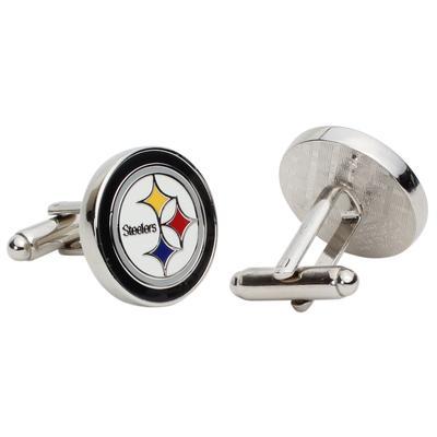 Pittsburgh Steelers Team Logo Cufflinks