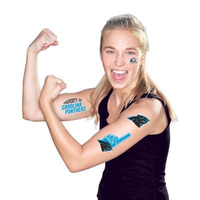 Carolina Panthers WinCraft Temporary Tattoo