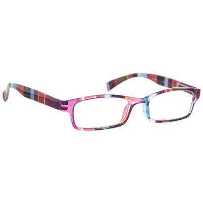 Wink by ICU Eyewear Striped Rectangular Reading Glases