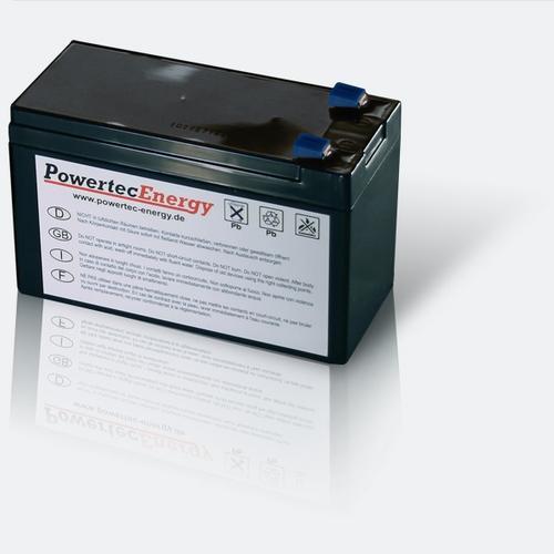 Batteriesatz für AIPTEK PowerWalker VFD 600