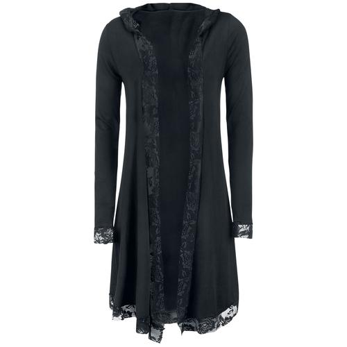 Forplay Lace Cardigan Damen-Cardigan - schwarz