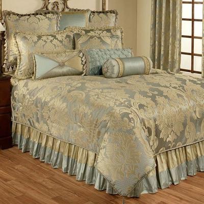 Duchess Comforter Set Seafoam, Queen, Seafoam