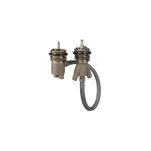 Hansgrohe Grundkörper für 2-Loch Wannenrandarmatur mit Thermostat 13550180